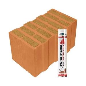 Porotherm Profi + Dryfix 44 Thermo
