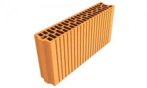 Leier Plan 10/50 N+F tégla, LeierFix univerzális ragasztóhabbal - 10 x 50 x 24,9 cm