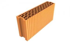 LeierPlan 12/50 N+F tégla, LeierFix univerzális ragasztóhabbal - 12 x 50 x 24,9 cm