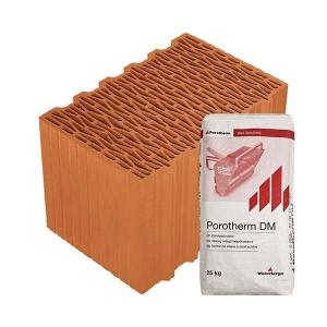 Porotherm Profi + V.F.H. 38 Klíma