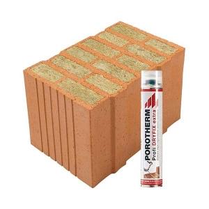 Porotherm Profi + Dryfix 38 Thermo