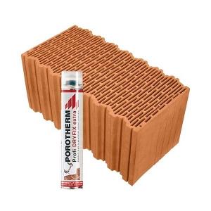 Porotherm Profi + Dryfix 50 Klíma