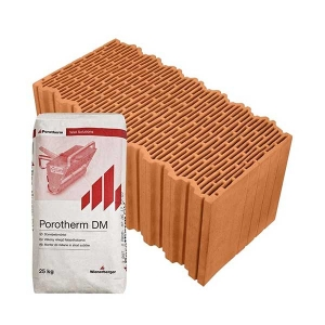 Porotherm Profi + V.F.H. 50 Klíma