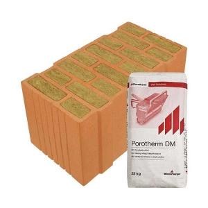 Porotherm Profi + V.F.H. 50 Thermo