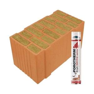Porotherm Profi + Dryfix 50 Thermo