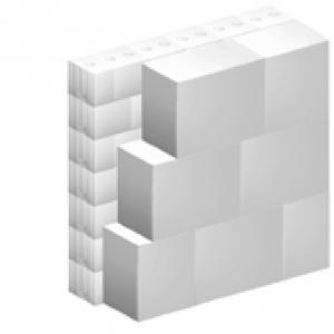 Silka + Multipor passzívház falszerkezet