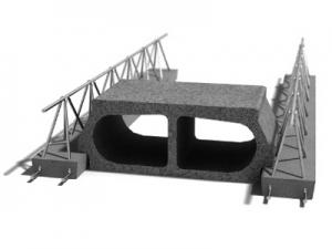 Leier LMF 160 mesterfödém gerenda - 160 cm